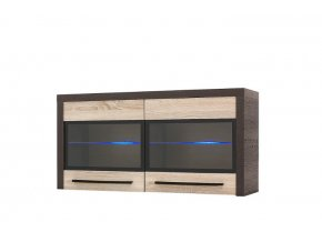 KD11 Skříňka závěsná 2D KOLDER (BARVA LED OSVĚTLENÍ RGB +750 Kč)