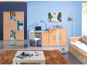 Nábytek do dětského pokoje TENUS Sestava 13