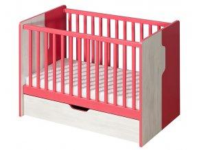 NU10 Dětská postel s úložným prostorem NUKI