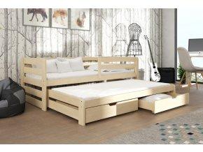 Patrová postel nízká SARA 5