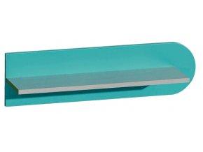 F10 modrá