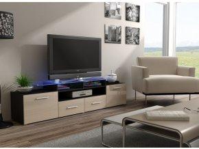 Trendy stolek pod televizor/rádio EVORA 12