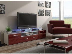 Komoda pod televizor/rádio EVORA 3 (BARVA LED OSVĚTLENÍ RGB +750 Kč)