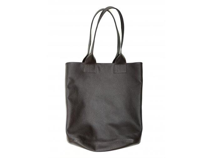 Kožená taška hnědá