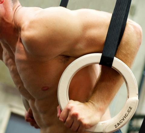 Gymnastické kruhy Smart Rings