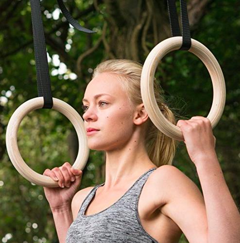 Gymnastické kruhy – 10 důvodů, proč si je pořídit