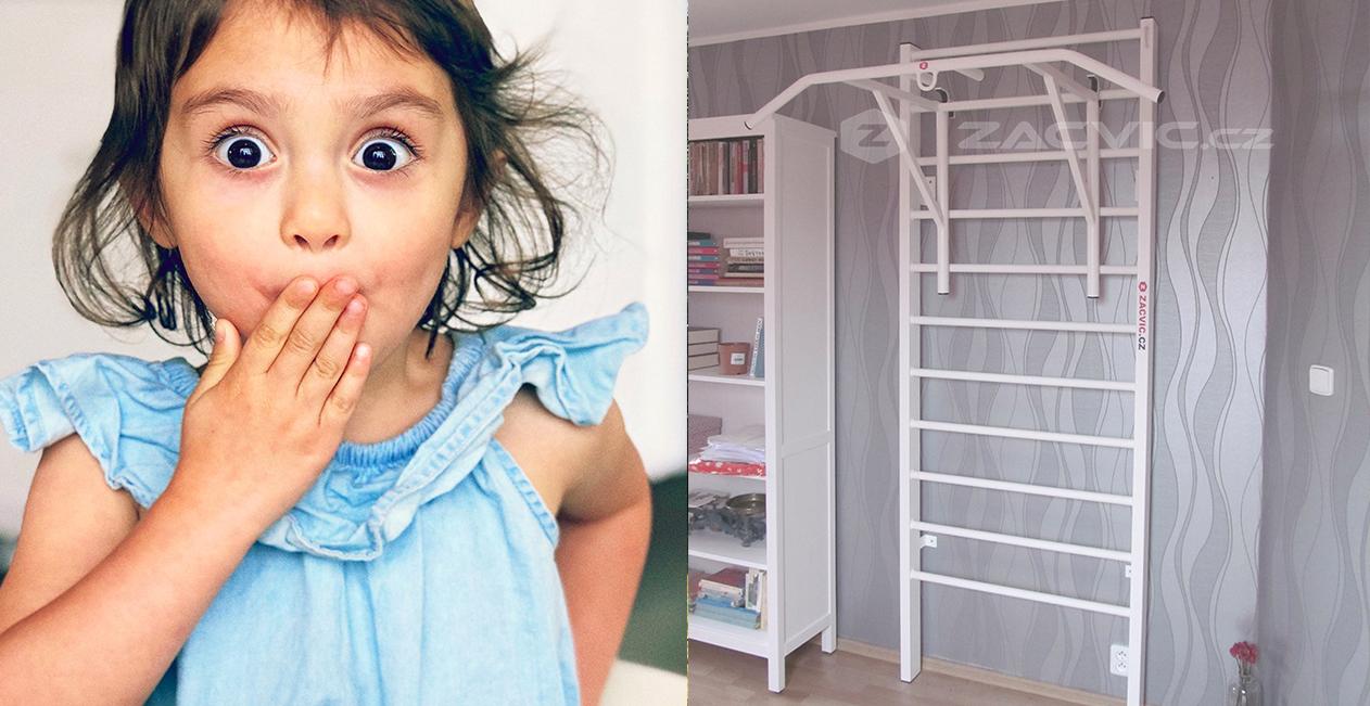 Žebřiny pro děti - žebřiny do bytu