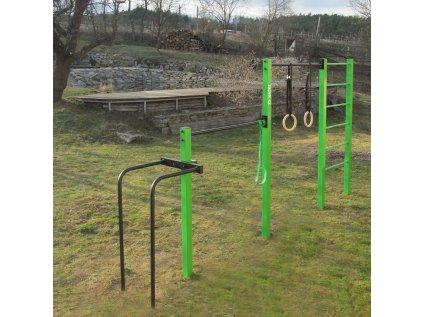 venkovní hrazda workout hřište