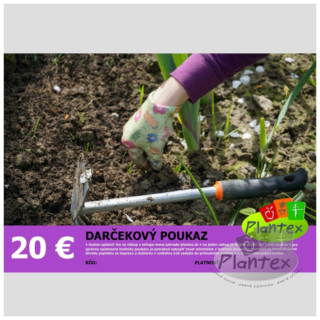 Darcekovy poukaz 20 Eur