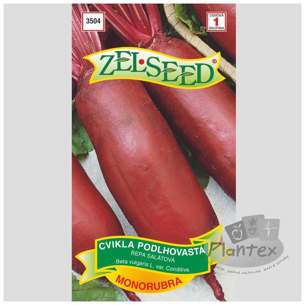 Zelseed semienka cvikla podlhovasta monorubra 1
