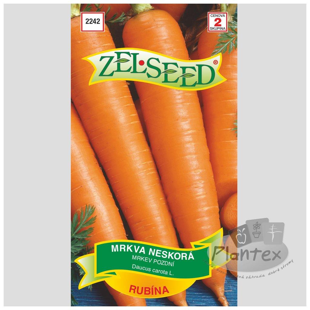 Zelseed semena mrkva rubina 1