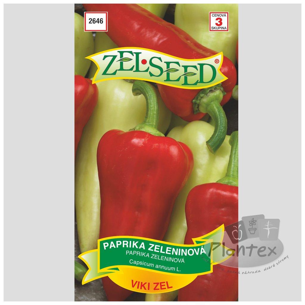 Zelseed semena paprika viki zel 1