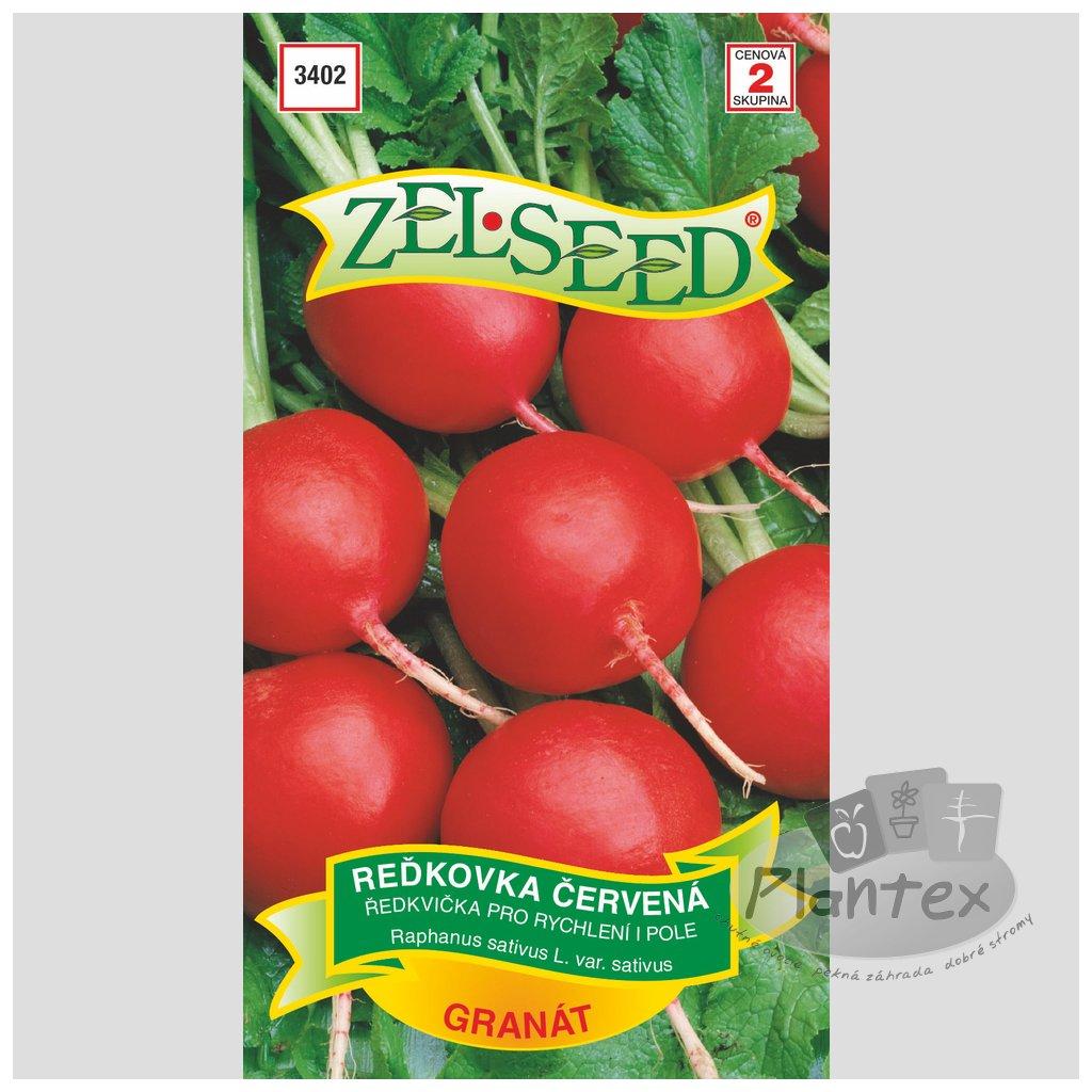 Zelseed semena redkev granat 1