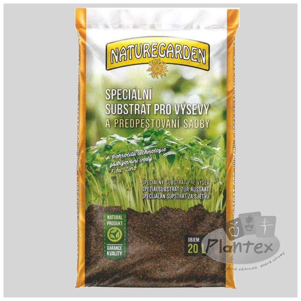 Naturegarden substrat pro vysev