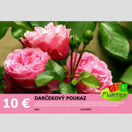 Darcekovy poukaz 10 Eur