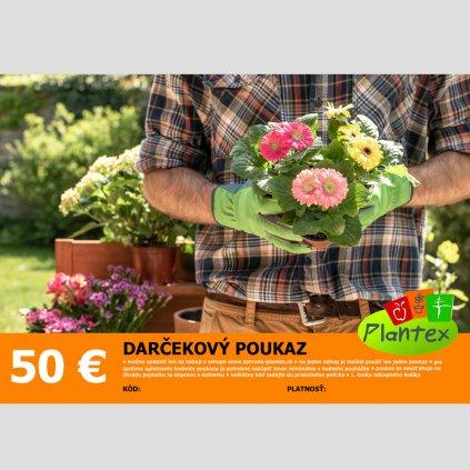 Darcekovy poukaz 50 Eur