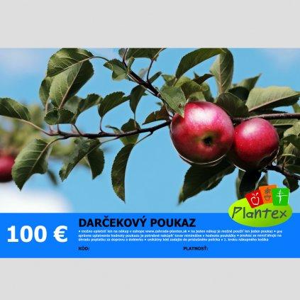 Darcekovy poukaz 100 Eur