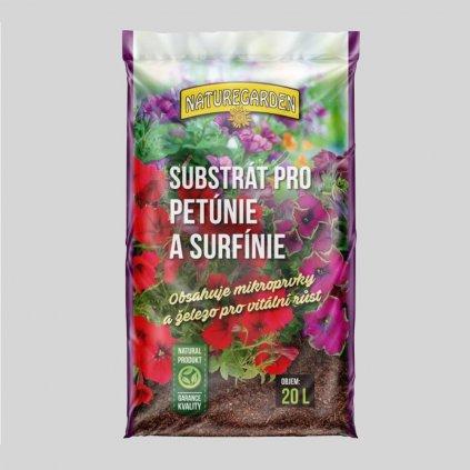 Substrat pre petunie a surfinie
