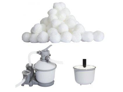 Bazénové čističe a chemikálie