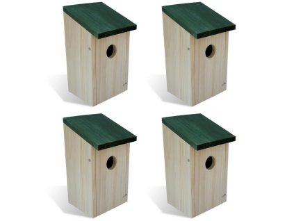 Ptačí budky a budky pro divoká zvířata