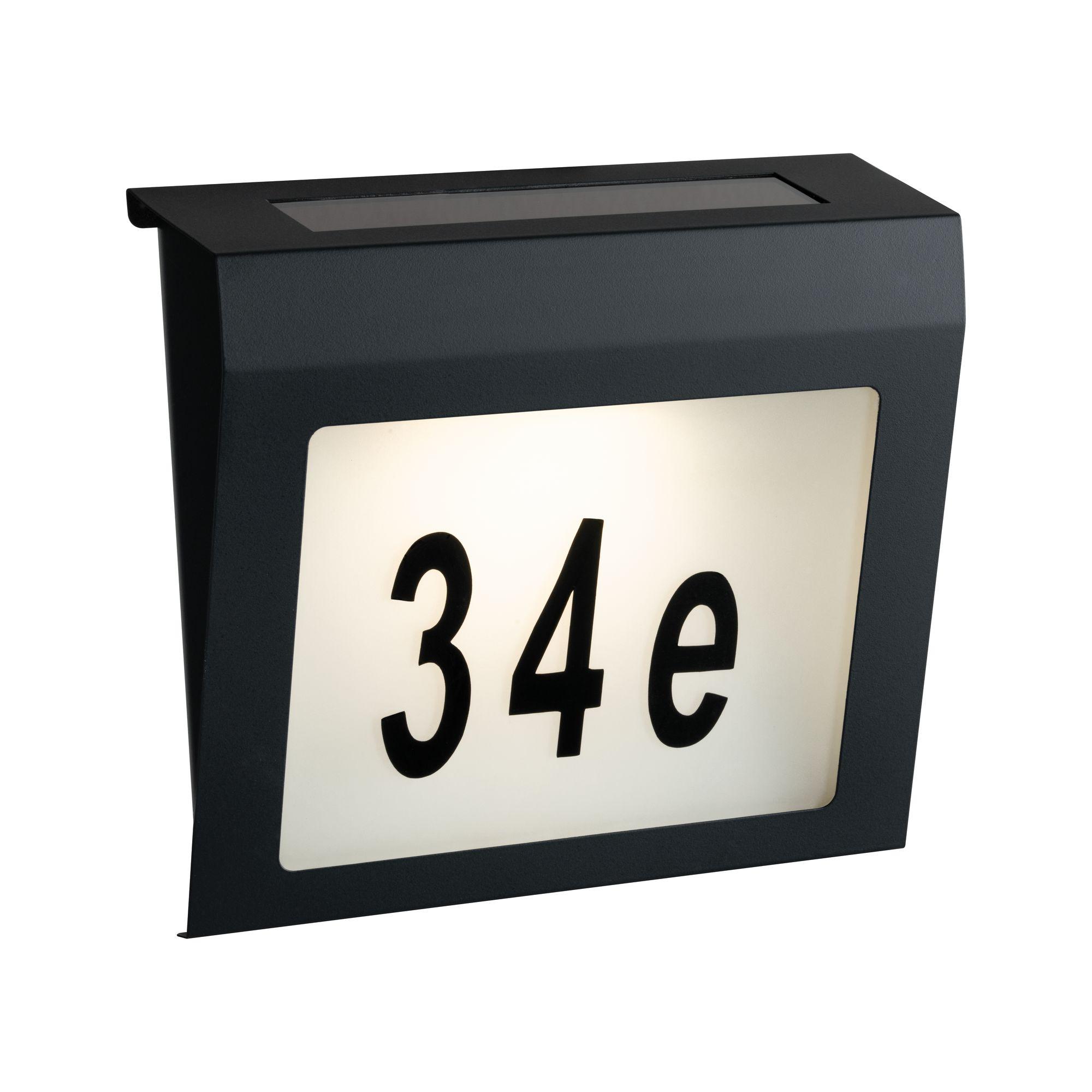 Čísla domů a písmena