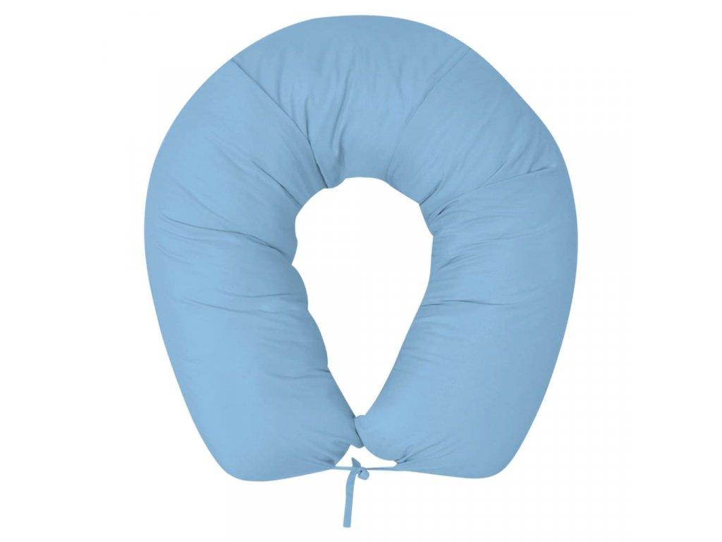 Těhotenský polštář 40x170 cm světle modrý