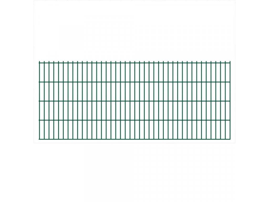 2D Zahradní plotové dílce 2,008 x 0,83 m 8 m (celková délka)