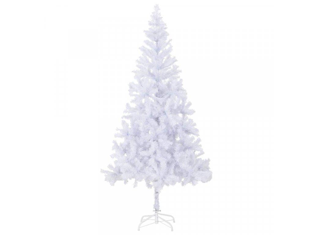 Umělý vánoční stromek s ocelovým stojanem 210 cm 910 větviček