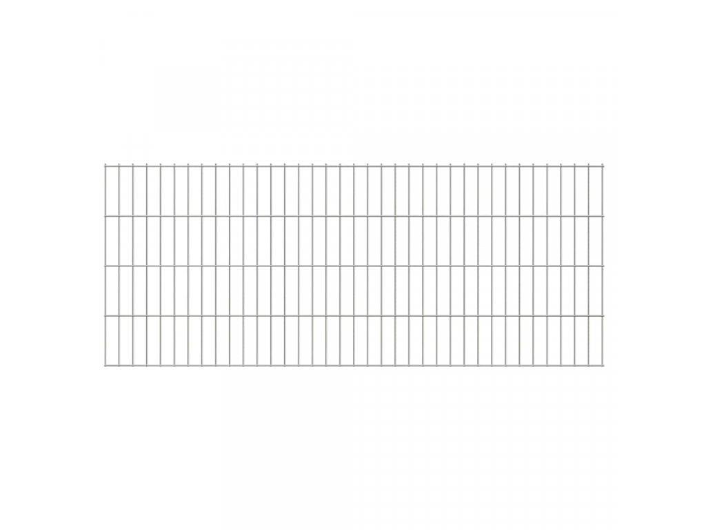 2D Zahradní plotové dílce 2,008 x 0,83 m 26 m (celková délka)
