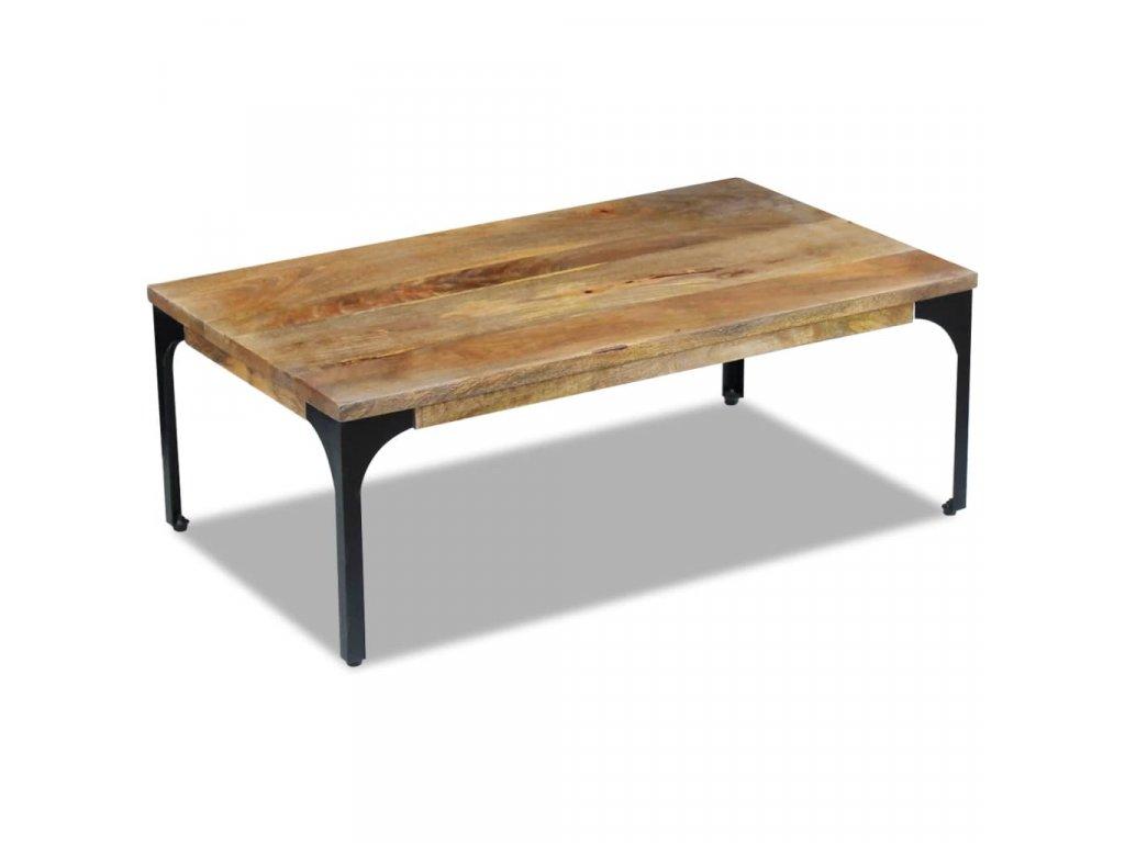 Konferenční stolek z mangovníkového dřeva 100x60x35 cm