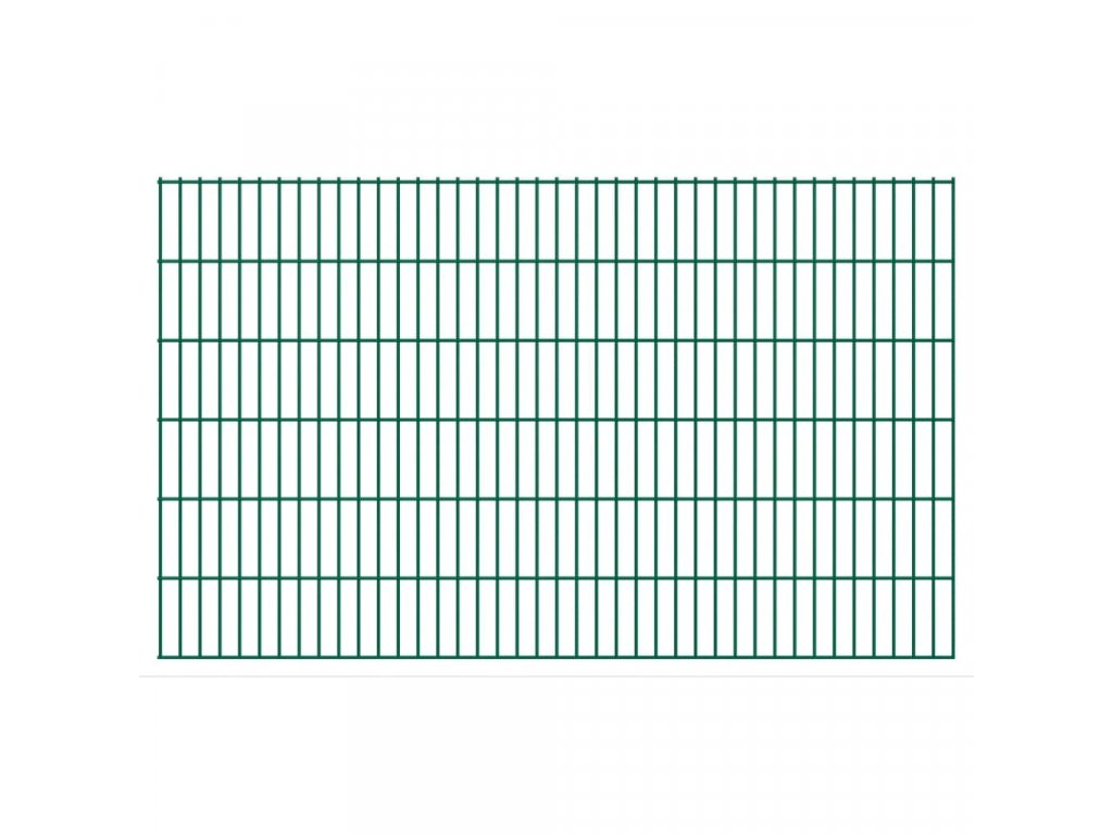 2D Zahradní plotové dílce 2,008x1,23 m 46m (celková délka) šedé