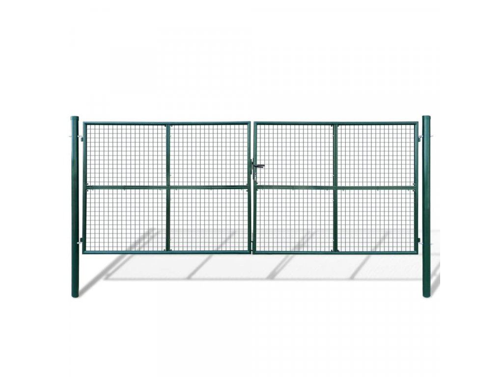 Zahradní brána z pletiva 415 x 200 cm / 400 x 150 cm