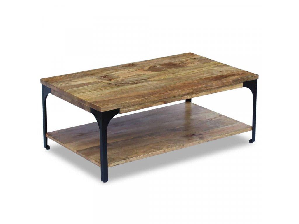 Konferenční stolek z mangovníkového dřeva 100x60x38 cm