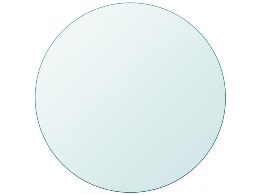 Stolní deska z tvrzeného skla kulatá 800 mm