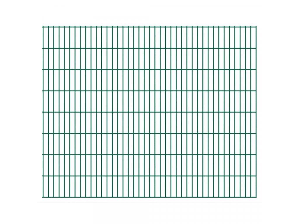 2D Zahradní plotové dílce 2,008 x 1,63 m 10 m (celková délka)
