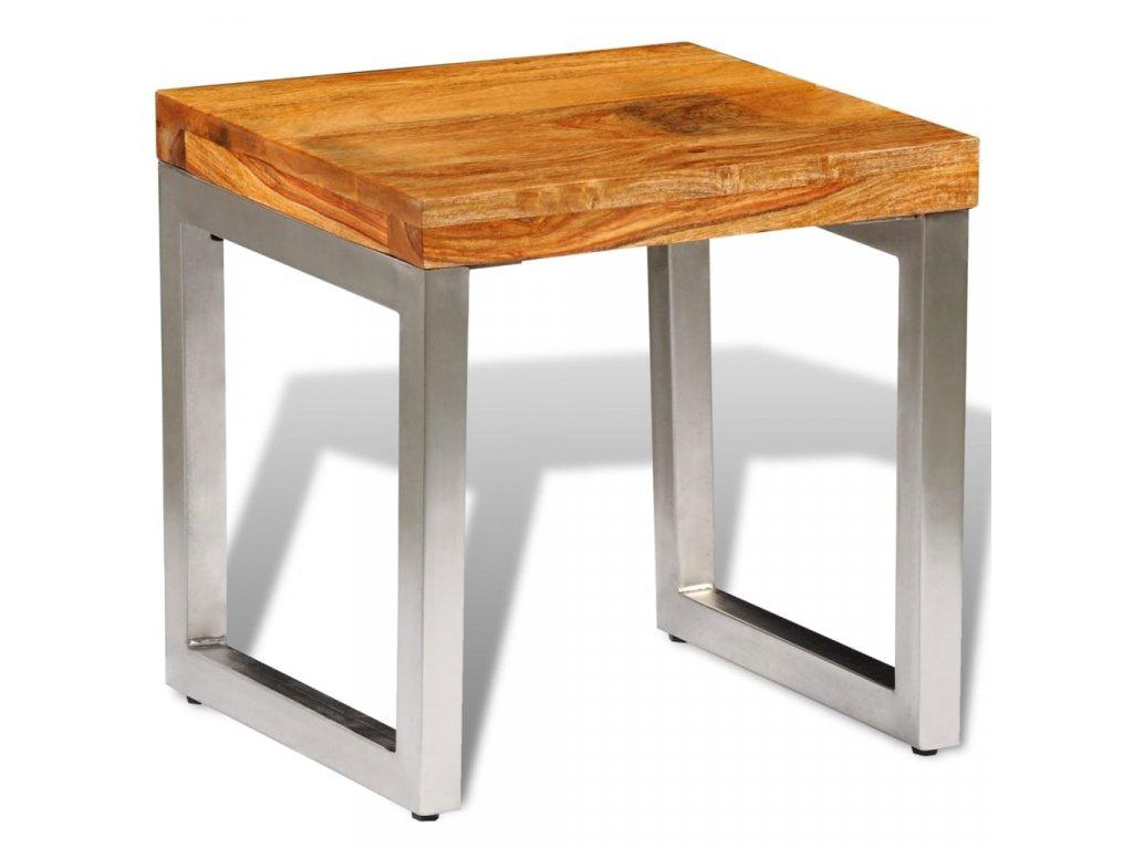 Konferenční stolek z masivního sheeshamu