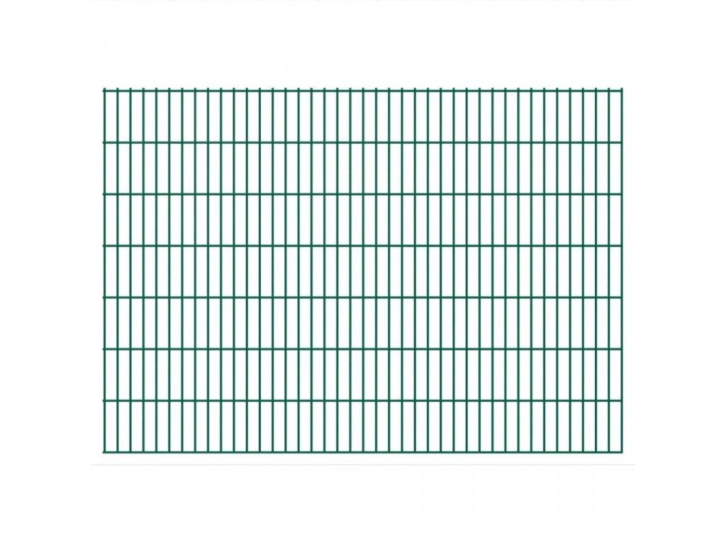2D Zahradní plotové dílce 2,008 x 1,43 m 6 m (celková délka)