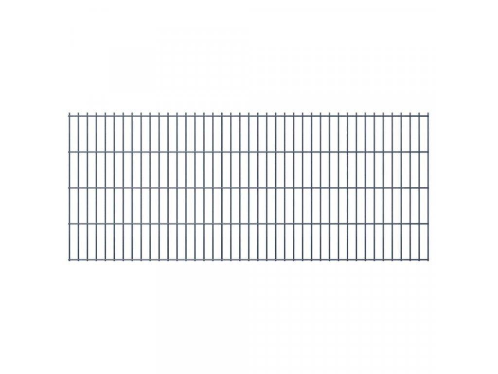 2D Zahradní plotové dílce 2,008x0,83 m 18m (celková délka) šedé