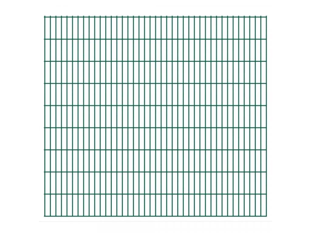 2D Zahradní plotové dílce 2,008 x 1,83 m 46 m (celková délka)