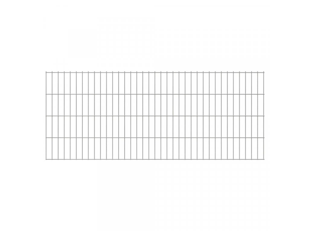 2D Zahradní plotové dílce 2,008 x 0,83 m 16 m (celková délka)