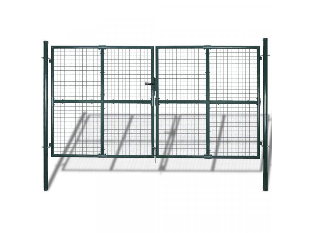 Zahradní brána z pletiva 289 x 200 cm / 306 x 250 cm