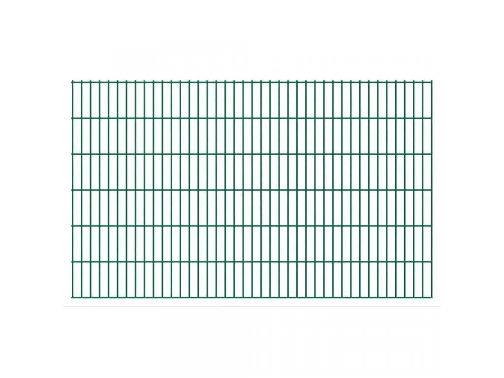 2D Zahradní plotové dílce 2,008 x 1,23 m 6 m (celková délka)