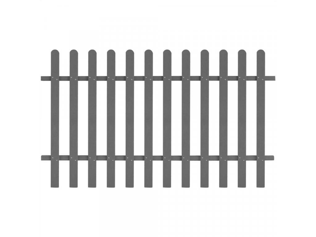 Laťkový plot WPC 200 x 120 cm
