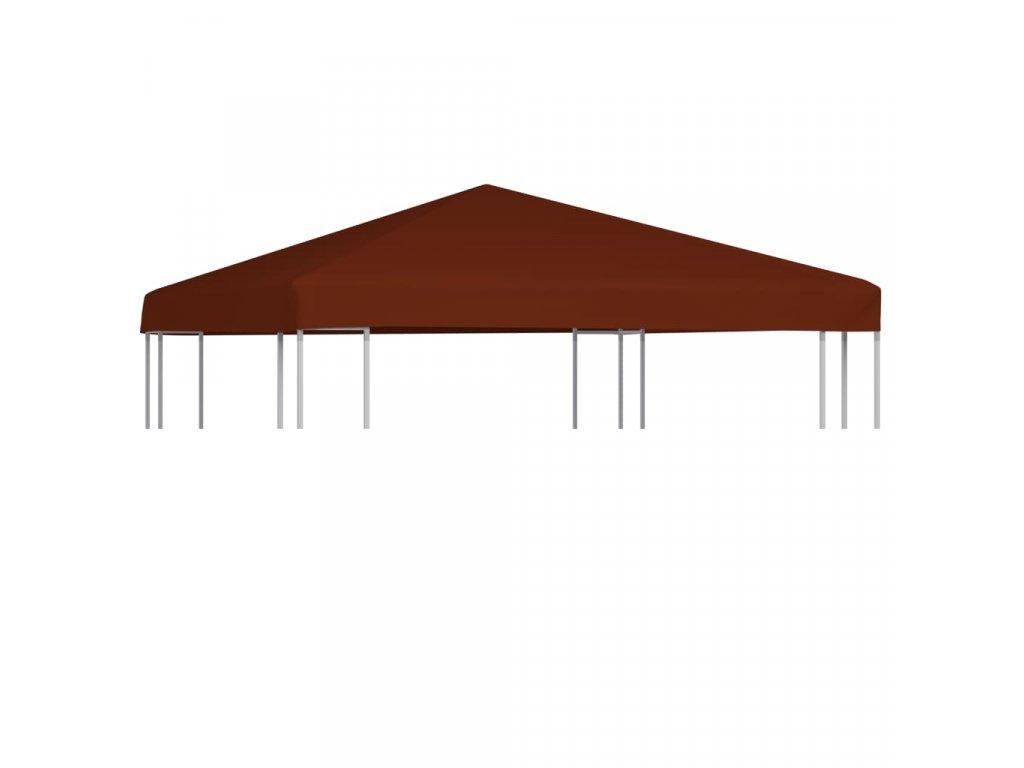 Střecha na altán 310 g/m² 3 x 3 m terakotová
