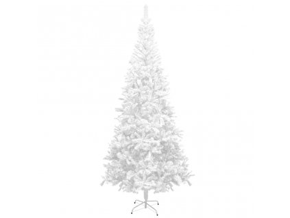 Umělý vánoční strom L 240 cm bílý