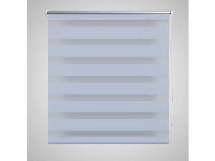 Roleta den a noc / Zebra / Twinroll 60x120 cm bílá