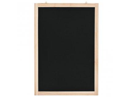 Nástěnná tabule z cedrového dřeva 40 x 60 cm