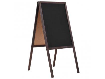 Oboustranná tabule z cedrového dřeva volně stojící 40 x 60 cm