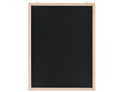 Nástěnná tabule z cedrového dřeva 60 x 80 cm