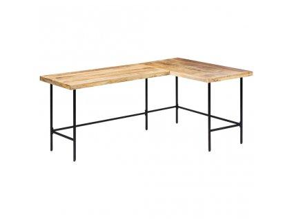 Psací stůl 120 x 60 x 76 cm masivní mangovníkové dřevo